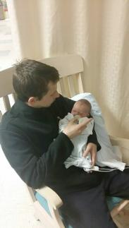 Zephyr and his dad, Ryan